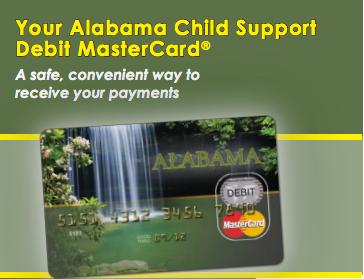 Alabama Child Support EPPIcard Customer Service