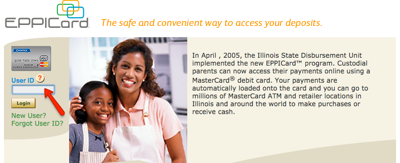 Illinois child support card customer service