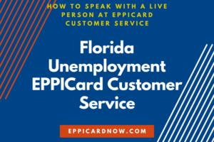 Florida Unemployment EPPICard Customer Service