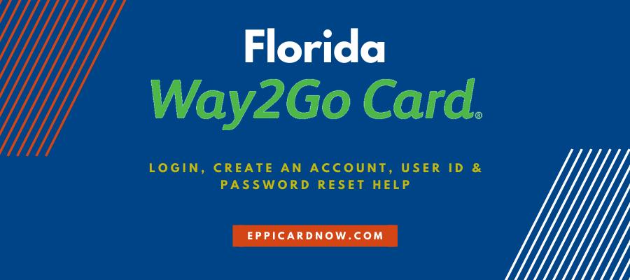 Way2Go Florida Login Help